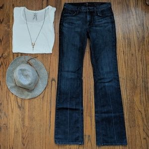 🎉HP!🎉 7 For All Mankind High Waist Bootcut Jeans